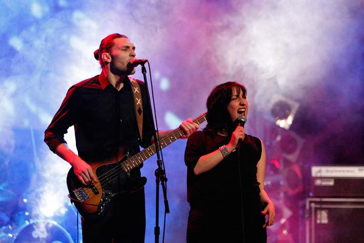 Jessy Martens & Band - Foto: Ludwig Czapla - www.fotoknips.de
