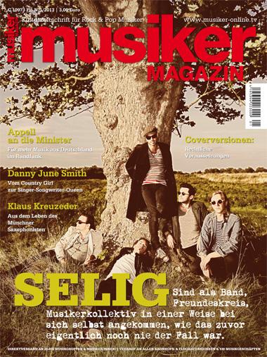 Musiker Magazin 01/2013