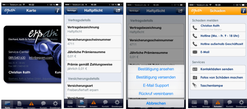 Eberhard, Raith & Partner - App